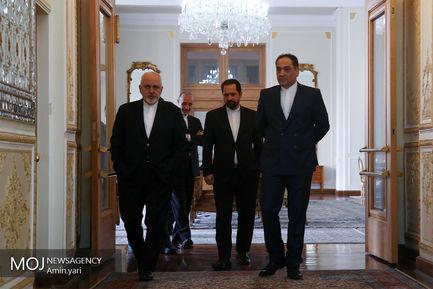 دیدار وزیر خارجه آذربایجان با محمدجواد ظریف