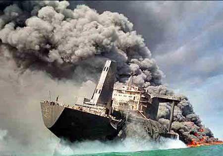 نفتکش در تهران منفجر شده بود!