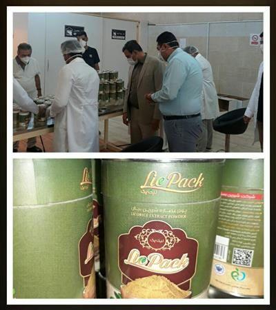 واحد راکد بستهبندی پودر شیرینبیان در کرمانشاه راهاندازی شد