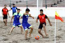 نخستین دوره مسابقات فوتبال ساحلی دانشجویان دانشگاه علمی – کاربردی کشور برگزار شد
