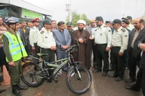 رونمایی از پلیس دوچرخه سوار به مناسبت هفته ناجا در املش