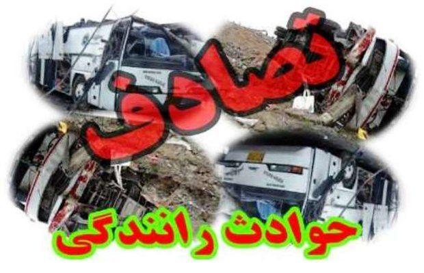 تصادف در محور گرگان به کردکوی دو کشته برجای گذاشت