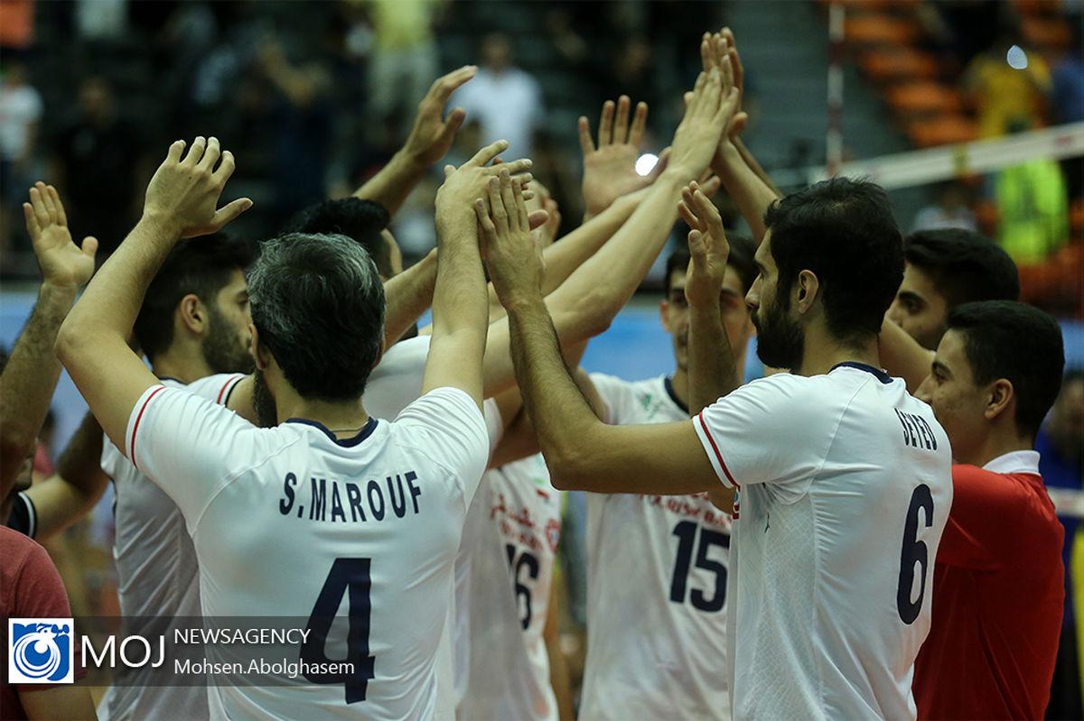 برنامه بازی های تیم ملی والیبال ایران در لیگ ملت های ۲۰۲۱ والیبال