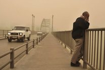 گرد و غبار نفس خوزستان را گرفت/ پیش بینی افزایش رطوبت از روز جمعه