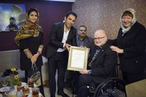 اعطای بالاترین نشان رئیس کمیته بینالمللی پارالمپیک به خانواده گلبارنژاد