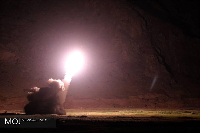 """۱ فروند موشک بالستیک """"زلزال-۱"""" به عمق خاک عربستان شلیک شد"""