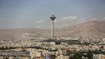 کیفیت هوای تهران ۳۰ اردیبهشت ۹۹/ شاخص کیفیت هوا به ۸۷ رسید