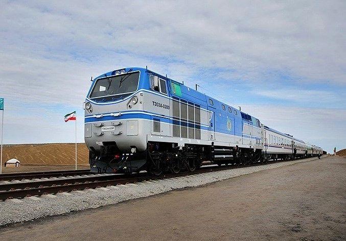 نخستین محموله باری قطار از کشور چین وارد استان گلستان میشود