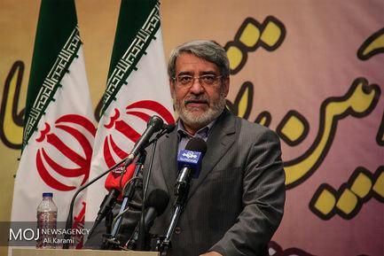 مراسم تکریم و معارفه استاندار کردستان با حضور وزیر کشور