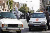 توقیف 57 دستگاه خودرو مسافربر شخصی غیرمجاز در کرمانشاه