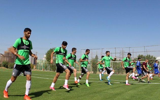ریکاوری تیم ملی قبل از ترک تهران