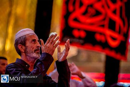 سوگواری ایام شهادت حضرت امیرالمومنین (ع) در حرمین شریفین کربلا