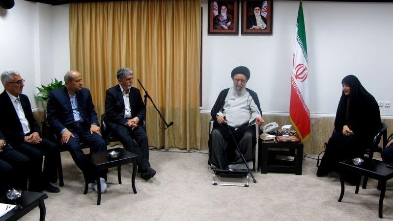 دیدار صالحی با نماینده ولی فقیه در استان گلستان