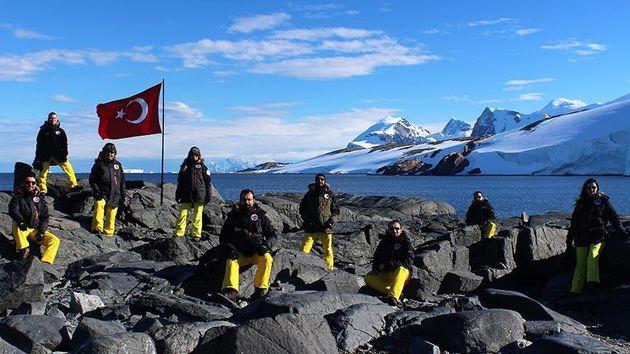ترکیه در صدد دستیابی به منابع زیر زمینی در قطب جنوب است