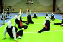 حضور بانوان والیبال نشسته خراسان رضوی در رقابت های قهرمانی کشور