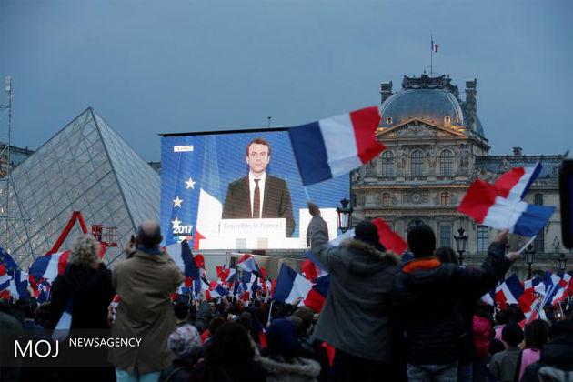 نخستین نطق ماکرون با مردم فرانسه