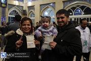 حضور پرشور مردم در انتخابات یازدهمین دوره مجلس در مسجد لرزاده