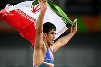 کسب اولین مدال آور کشتی آزاد ایران توسط حسن یزدانی