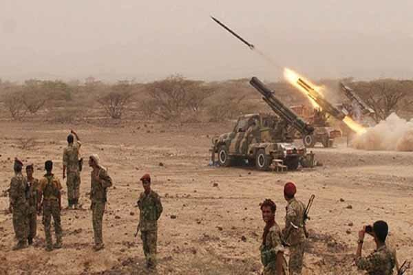 شلیک موشک زلزال 1 به سمت مواضع عربستان