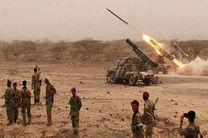 حملات موشکی و توپخانهای یمن به مواضع مزدوران ائتلاف سعودی