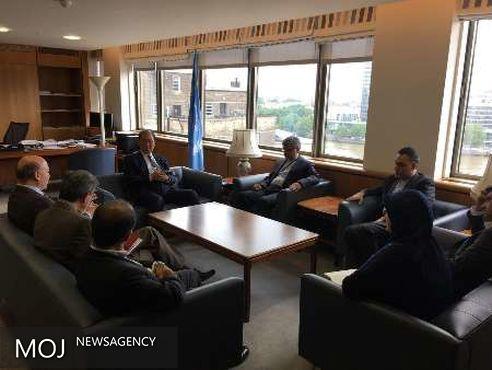 ایران و آیمو بر گسترش همکاری در زمینه آموزشی تاکید کردند