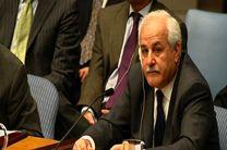 نماینده دائم تشکیلات خودگردان به مقامات سازمان ملل نامه نوشت