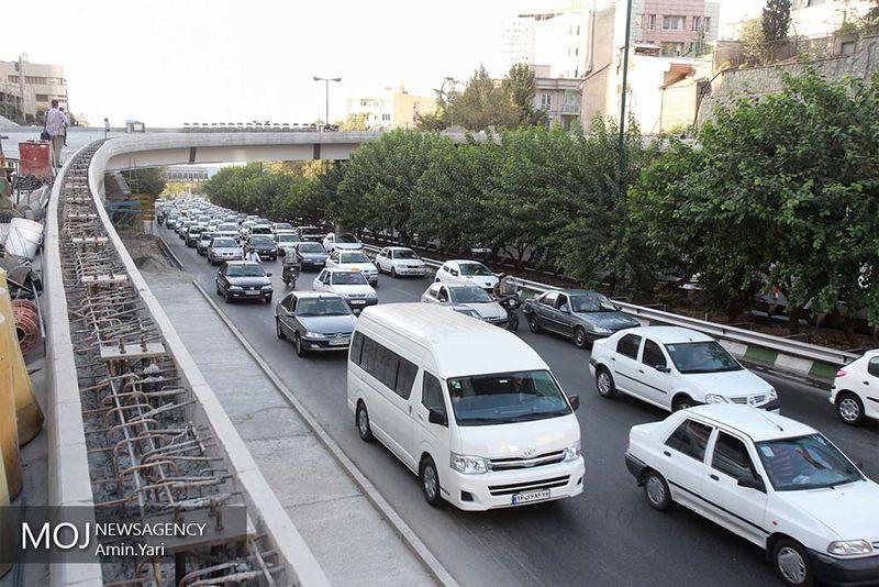 وضعیت ترافیکی بزرگراه های تهران در صبح روز ۱۴ دی اعلام شد