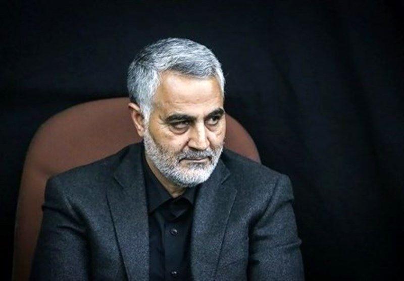 مراسم ختم پدر سردار سلیمانی در مصلای تهران برگزار شد