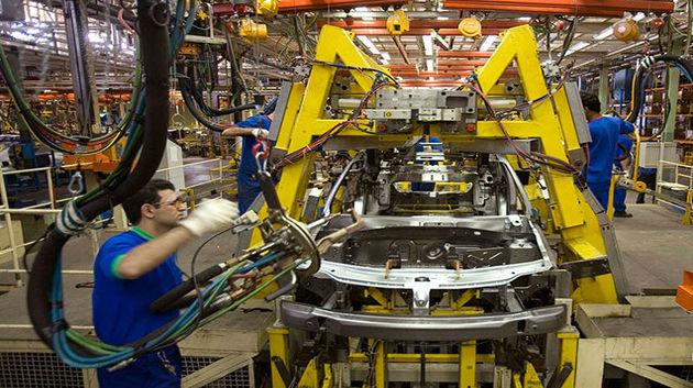 تولید خودروسازان داخلی کاهش یافته است