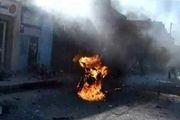 انفجار یک موتور سیکلت بمبگذاری شده در حومه حلب