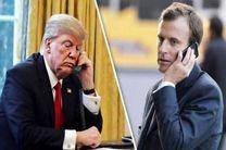 صحبت تلفنی مکرون و ترامپ درباره قتل خاشقجی