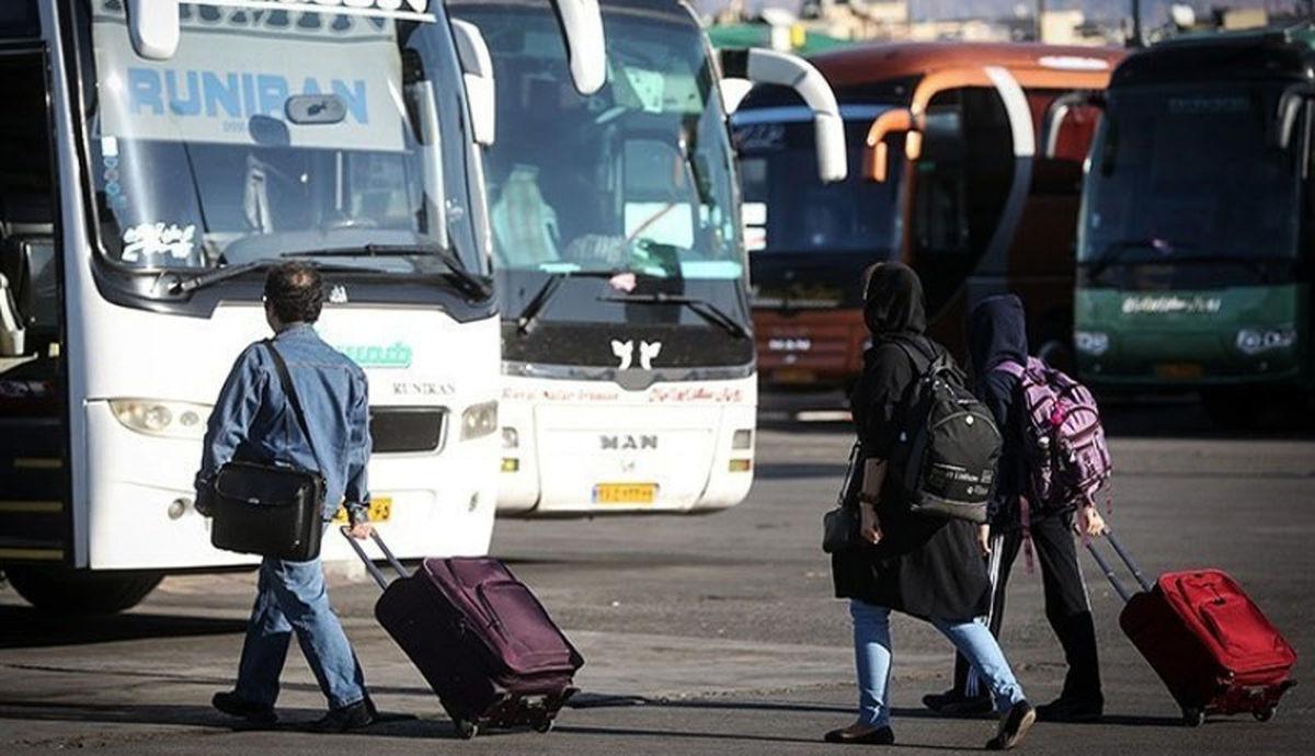 مسافرت با اتوبوس در خراسان رضوی، ۳۱ درصد افزایش پیدا کرده است