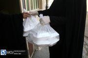 توزیع غذای گرم در بین مددجویان از قربان تا غدیر در اصفهان