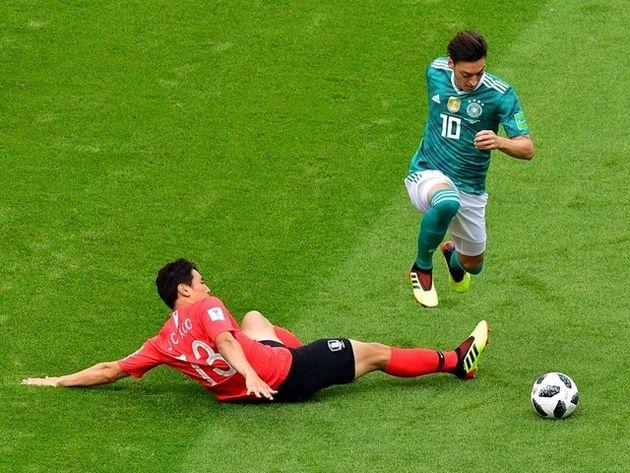 تساوی بدون گل آلمان و کره جنوبی در نیمه نخست