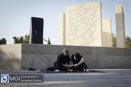 دعای پرفیض عرفه ۹۹ در بهشت زهرا (س)