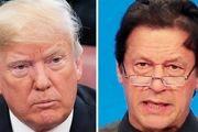 رایزنی تلفنی رییس جمهور آمریکا و عمران خان درباره کشمیر
