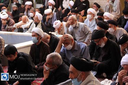 عزاداری شهادت امام صادق (ع) در بیوت مراجع و علمای قم