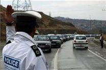 ترافیک نیمه سنگین در محور کرج - چالوس/ باراش باران در اردبیل و اصفهان