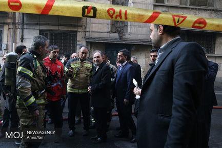حضور+شهردار+در+محل+آتش+سوزی+ساختمان+برق+حرارتی (1)