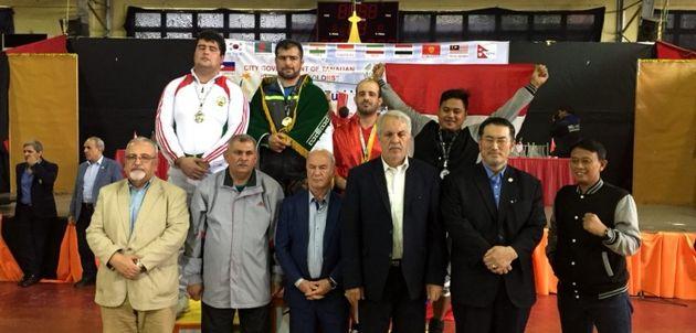 ایران قهرمان تیمی زورخانهای مسابقات آسیا شد