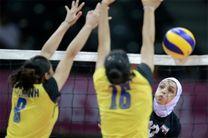 پیروزی دختران جوان والیبال مقابل ماکائو