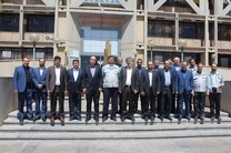 مدیر عامل بانک رفاه از شرکت فولاد مبارکه بازدید کرد
