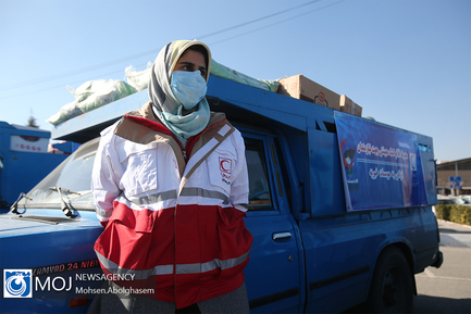 آیین توزیع ۴۴۲۰ بسته کمک معیشتی به نیازمندان استان تهران