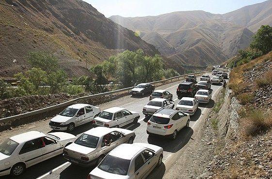 هراز و کندوان دوشنبه 6 خرداد یکطرفه میشوند