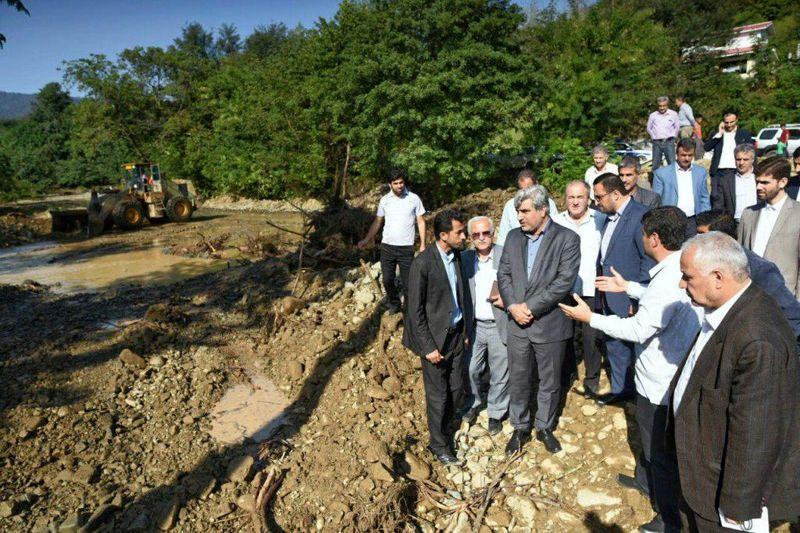 جداره سازی رودخانهها اقدامی پیشگیرانه در وقوع سیل است