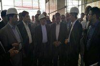 بازدید وزیر راه و شهرسازی از ایستگاه قطار راه آهن ارومیه