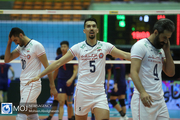 دیدار تیم های ملی والیبال ایران و چین تایپه