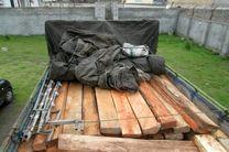 کشف 8تن چوب قاچاق در املش