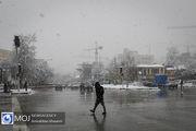 پیش بینی بارش باران و برف در ۷ استان کشور