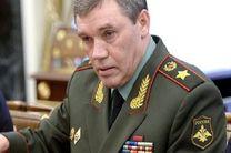 گراسیموف از سطح همکاریهای دفاعی-نظامی ایران و آذربایجان ابراز خرسندی کرد